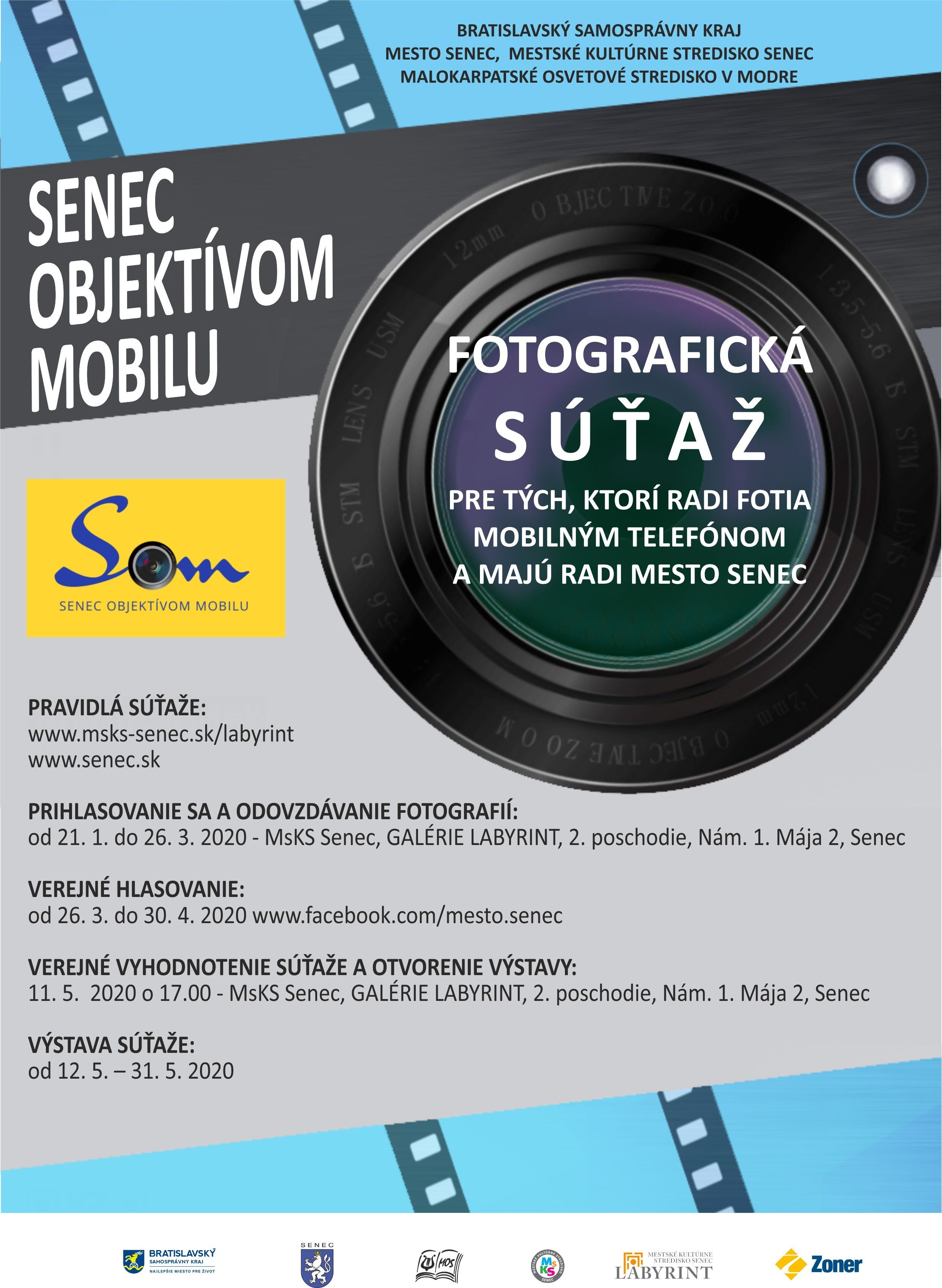 SOM – Senec objektívom mobilu - súťaž
