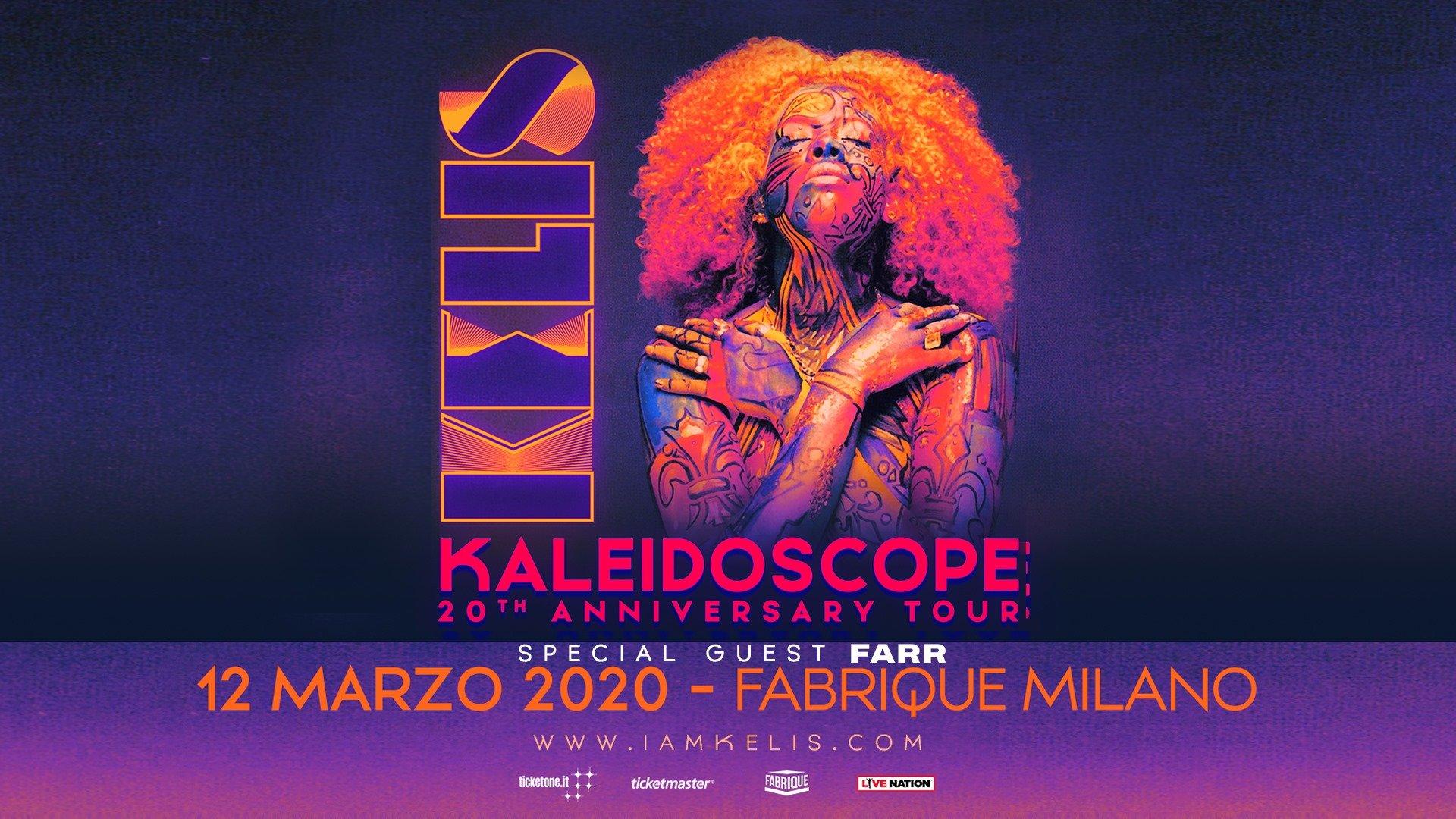 Kelis live in Milan