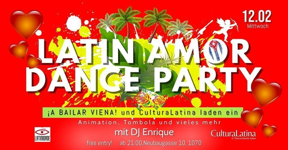 LATIN AMOR DANCE PARTY