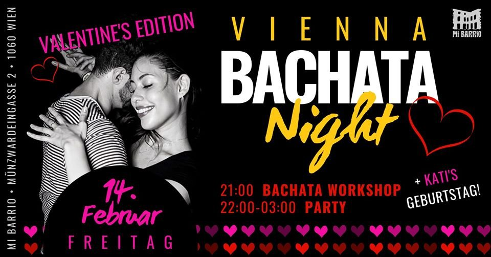 Vienna Bachata Night ♡ Valentine's Edition