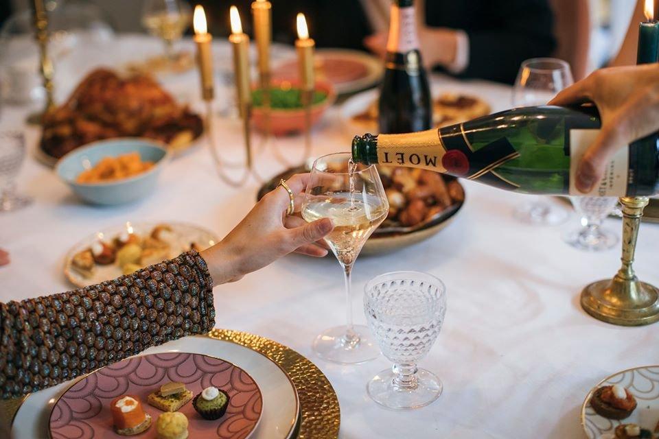 Valentine´s Day-Dinner with MOËT