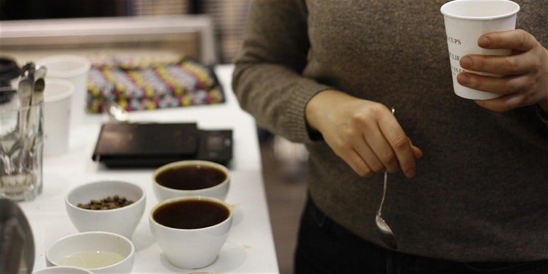 Coffee Cupping with The Visit Coffee Roastery