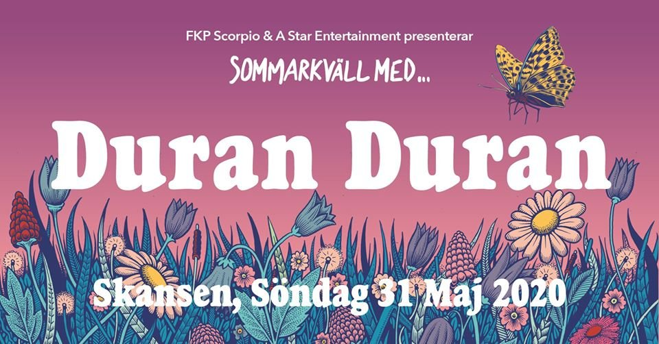 Summer evening with Duran Duran