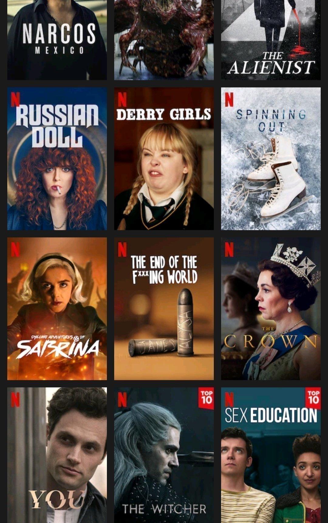 TV-Series to Binge on Netflix