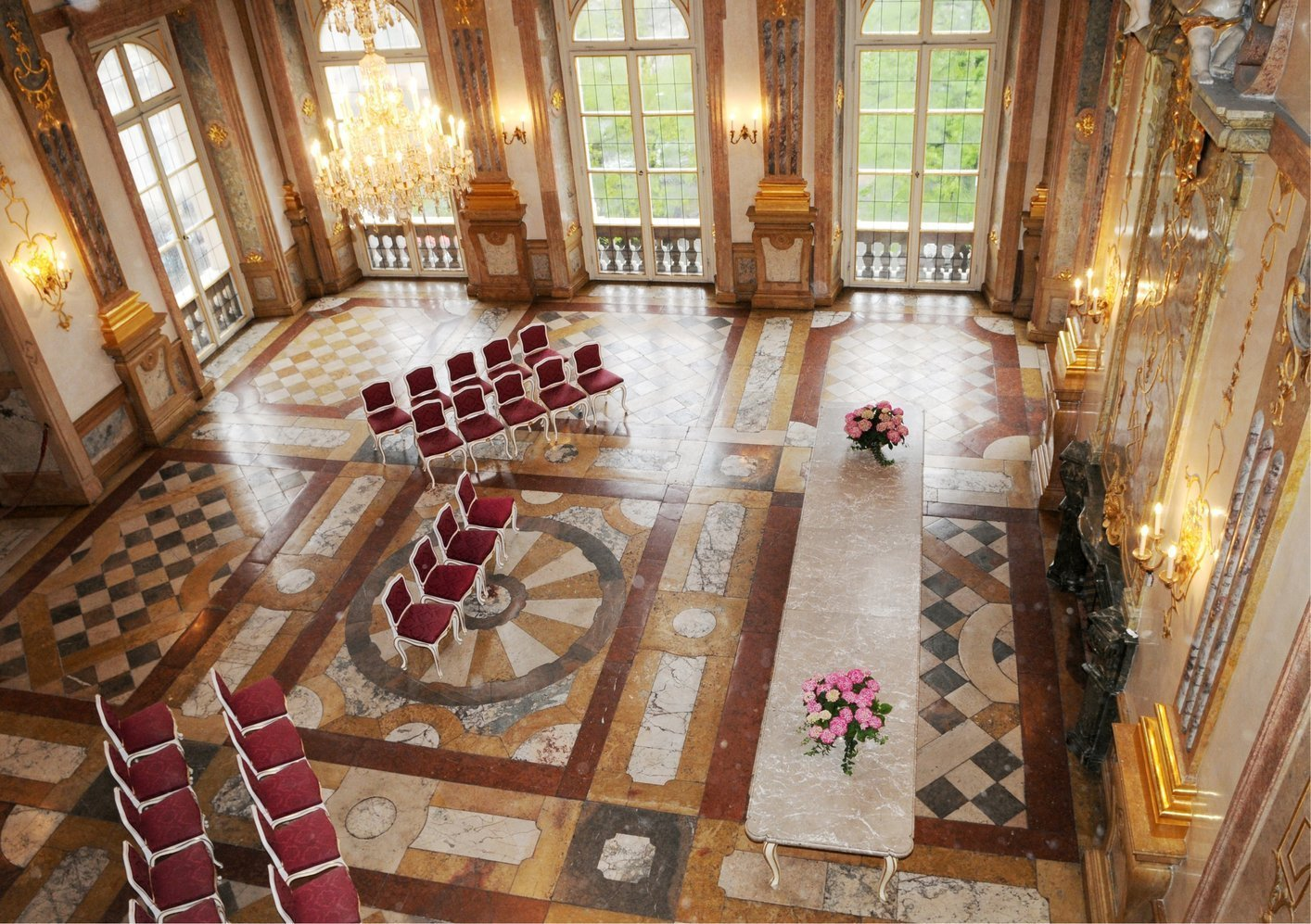 Mirabell Palace Virtual Tour