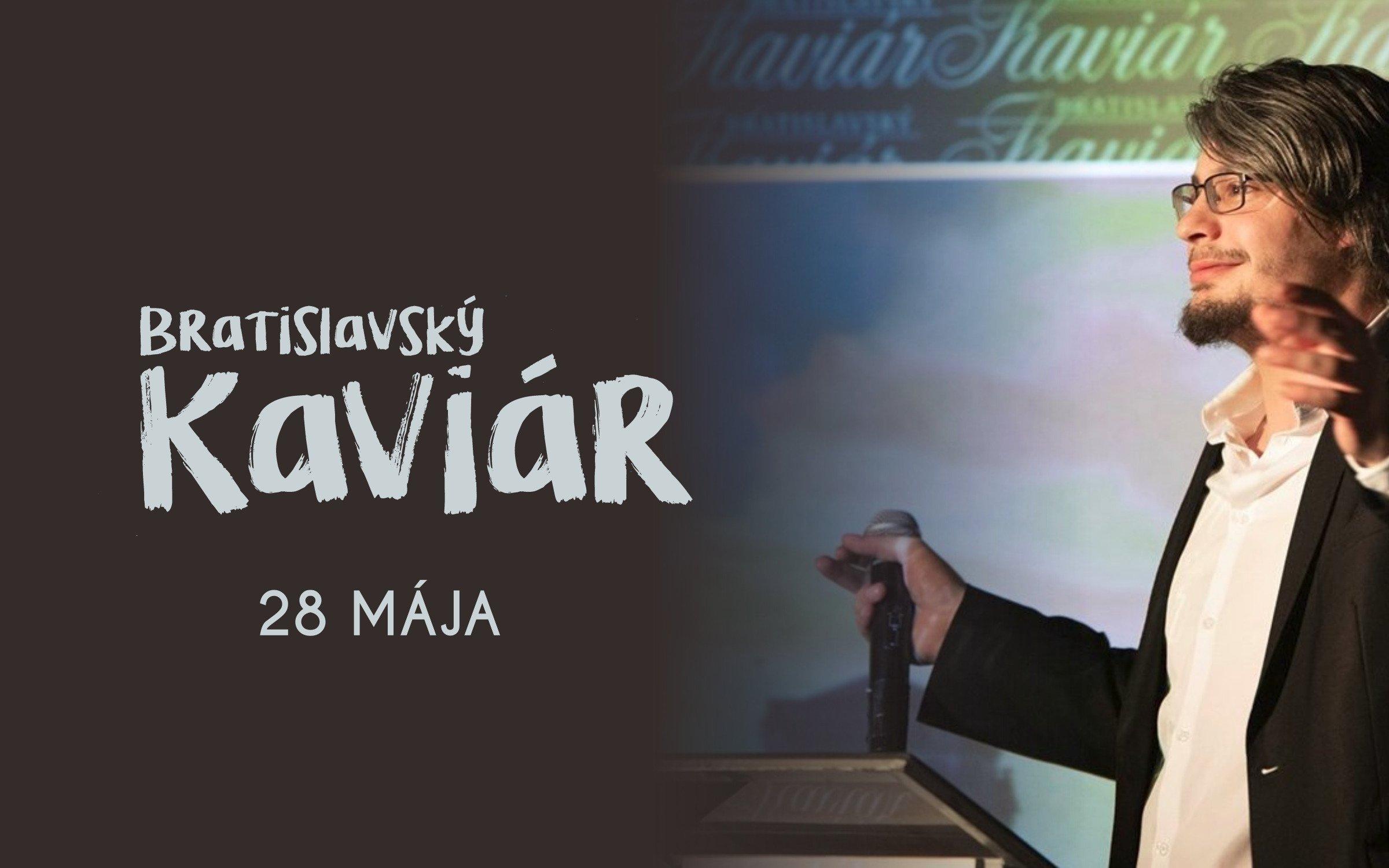 Bratislavský Kaviár s Kubom Lužinom