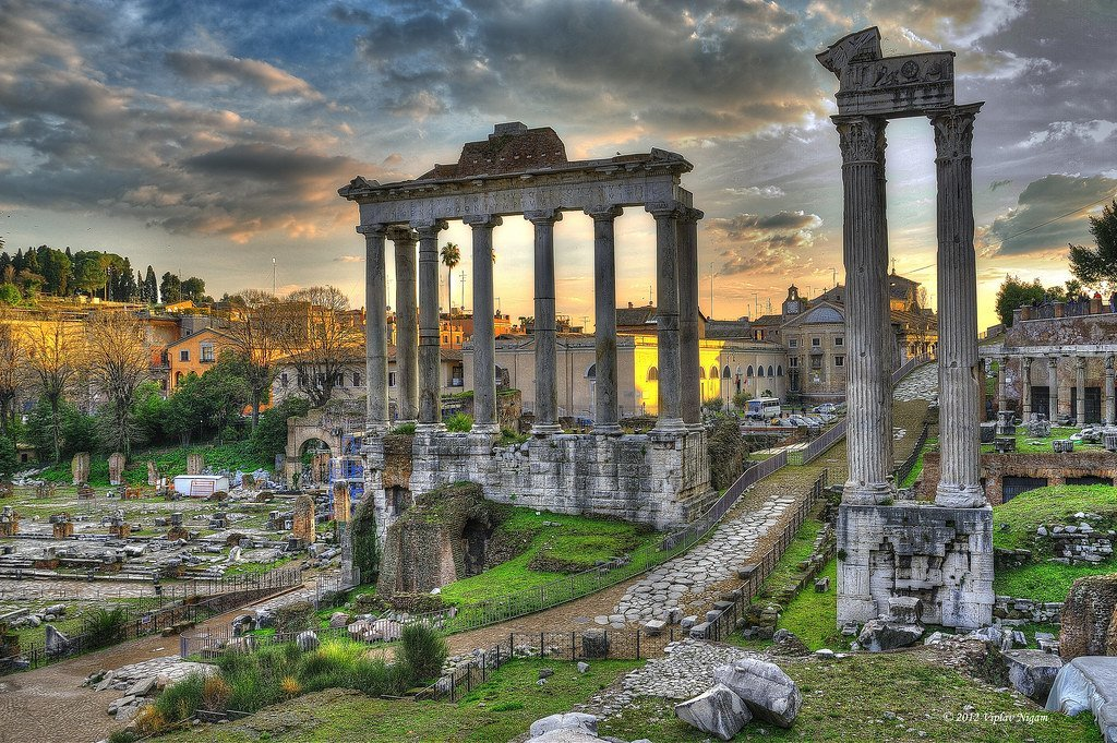 Roman Forum Virtual Tour