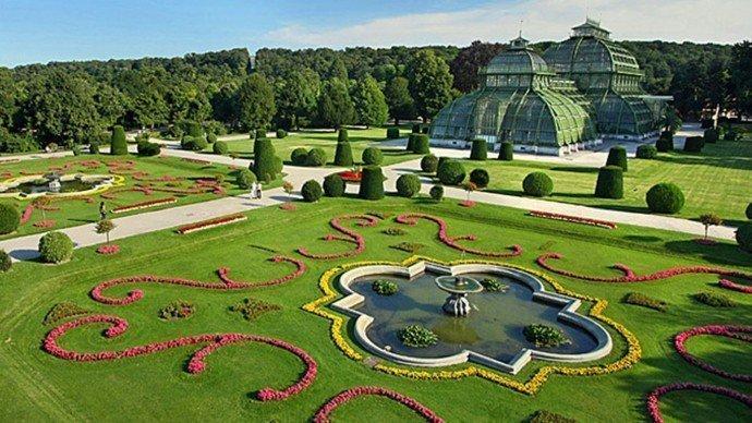 Schönbrunn Gardens & Gloriette