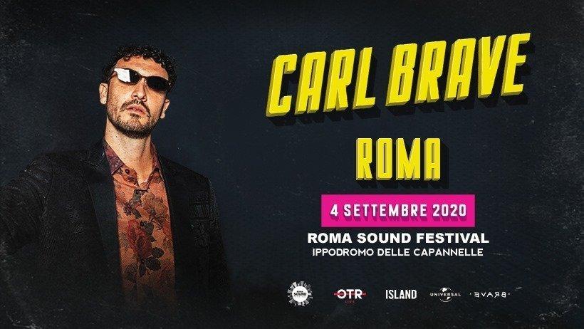 Carl Brave in Rome