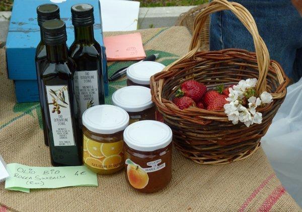 Bio-market at Certosa