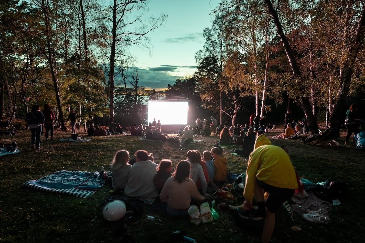 Outdoor cinema Stockholm