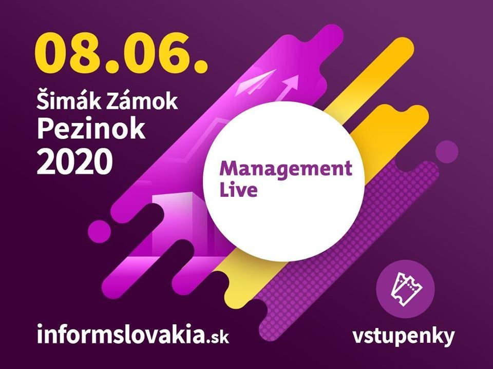 Management Live 2020 Bratislava