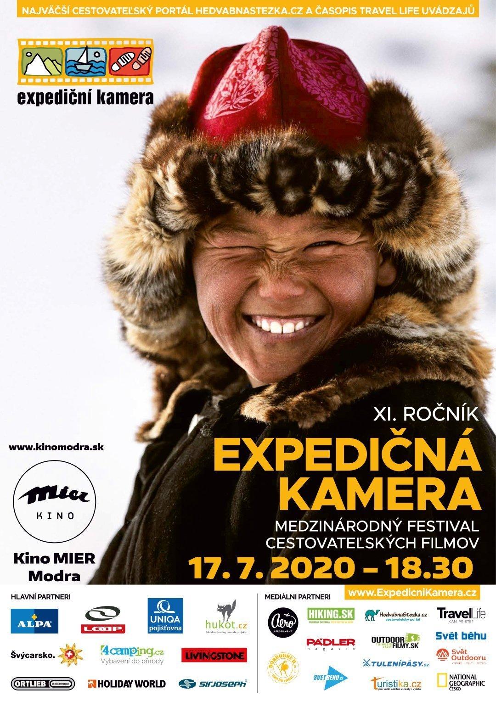 Expedičná kamera Modra 2020