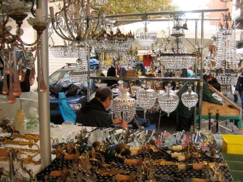 Flea Market at Porta Portese