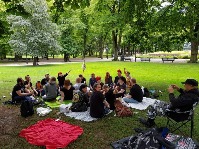 Saints Picnic in Stockholm