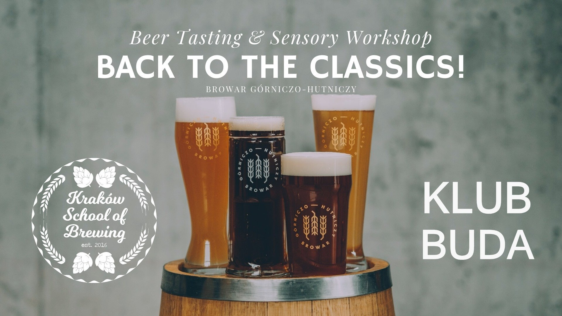 BGH Beer Tasting & Sensory Workshop