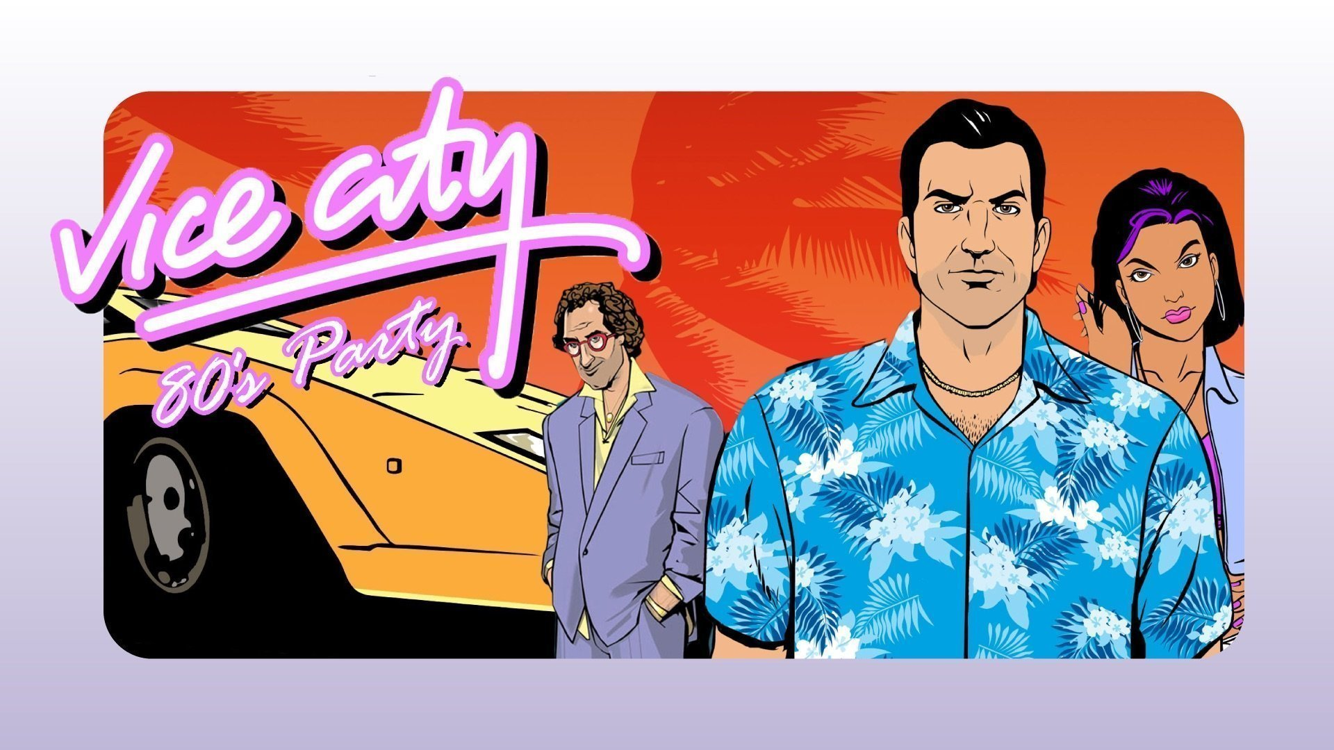 Vice city  80´s vs. 90´s party