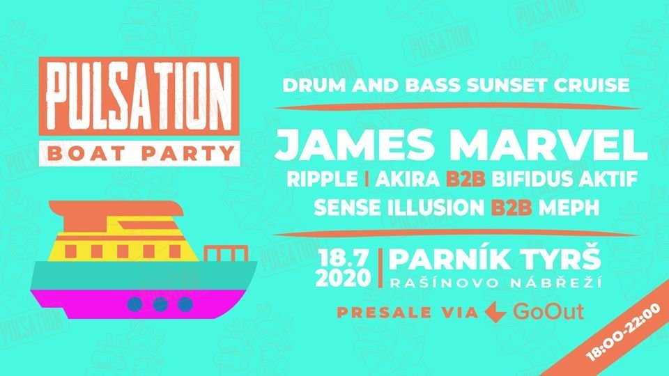 Prague Drum & Bass BOAT PARTY