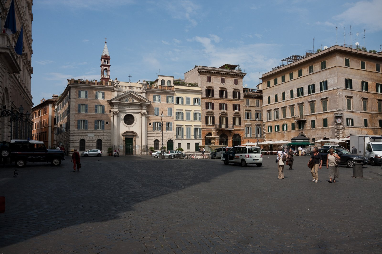Via Giulia and the Rione Regola