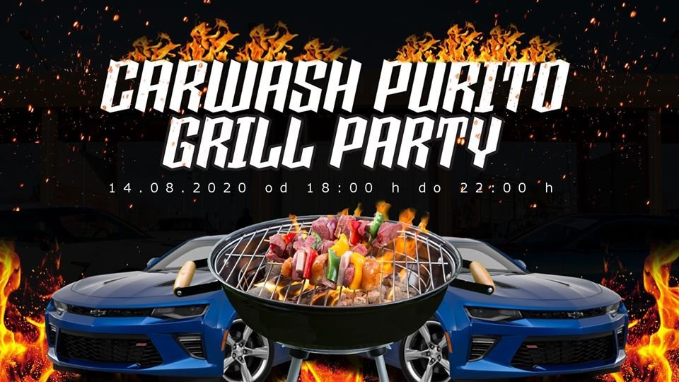 CarWash Purito Grill Party