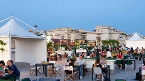 Live music on the largest terrace in Rome