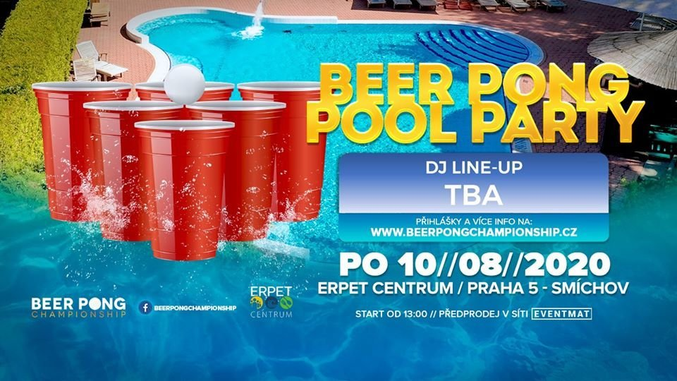 Beer Pong Pool Party