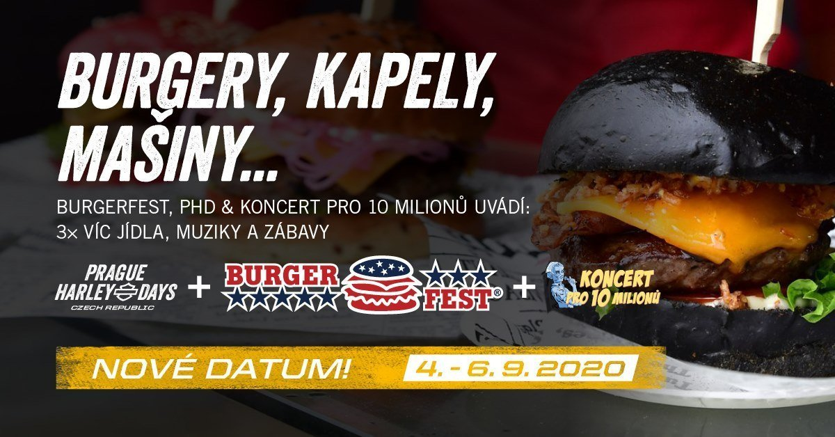 Burgerfest 2020 Prague