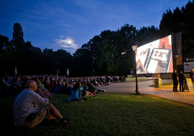 The Open air cinema Friedrichshain