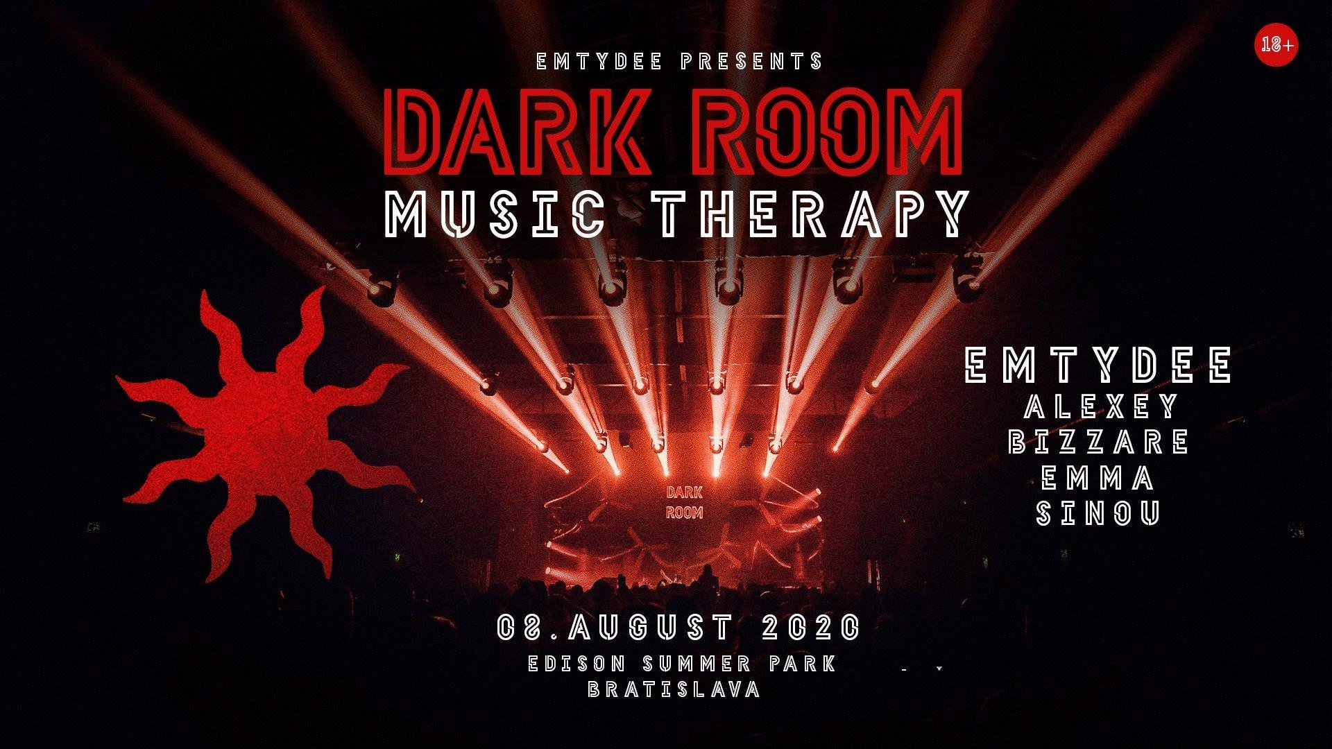 DARK ROOM music therapy Bratislava