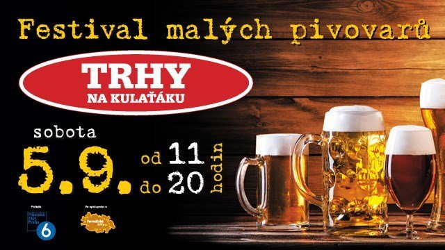 Festival of small breweries at Markets in Kulaťák