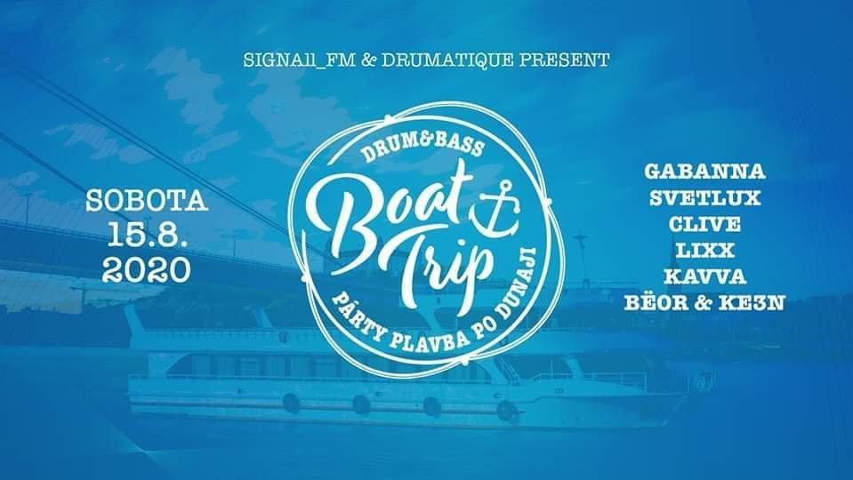 Drum&Bass Boat Trip Bratislava