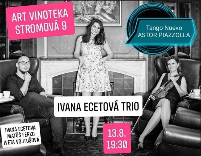 Ivana Ecetová TRIO -  tango concert
