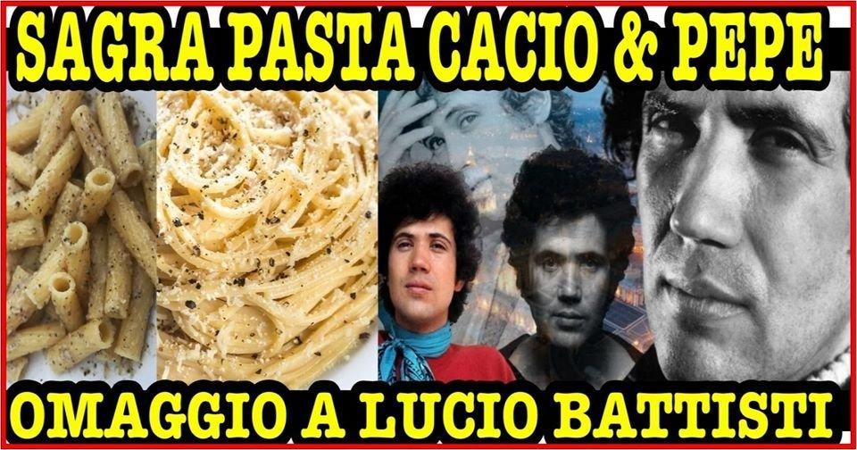 Pasta Amatriciana and Cacio & Pepe Festival
