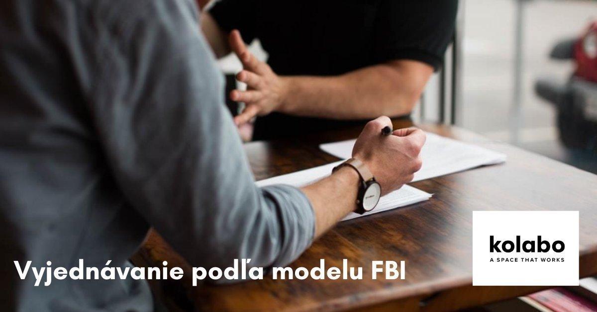 Vyjednávanie podľa modelu FBI