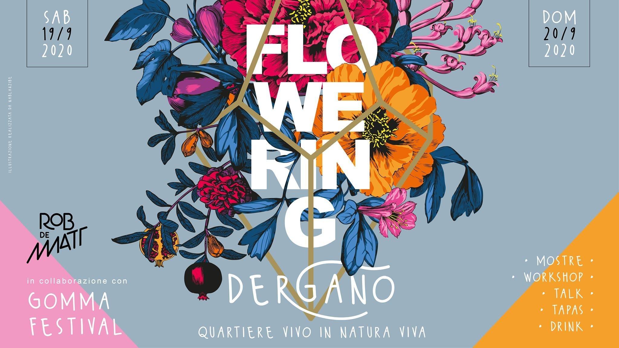 Flowering Dergano Milan