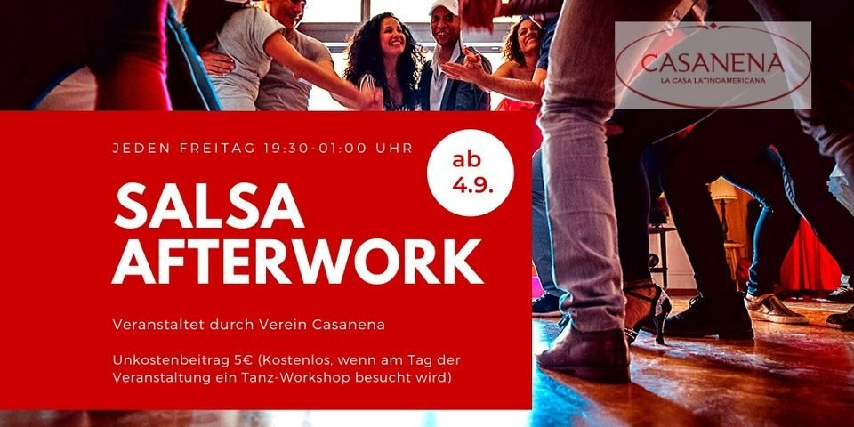 Salsa Afterwork in CASANENA