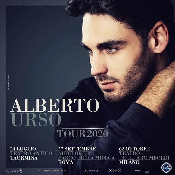 Alberto Urso in Rome