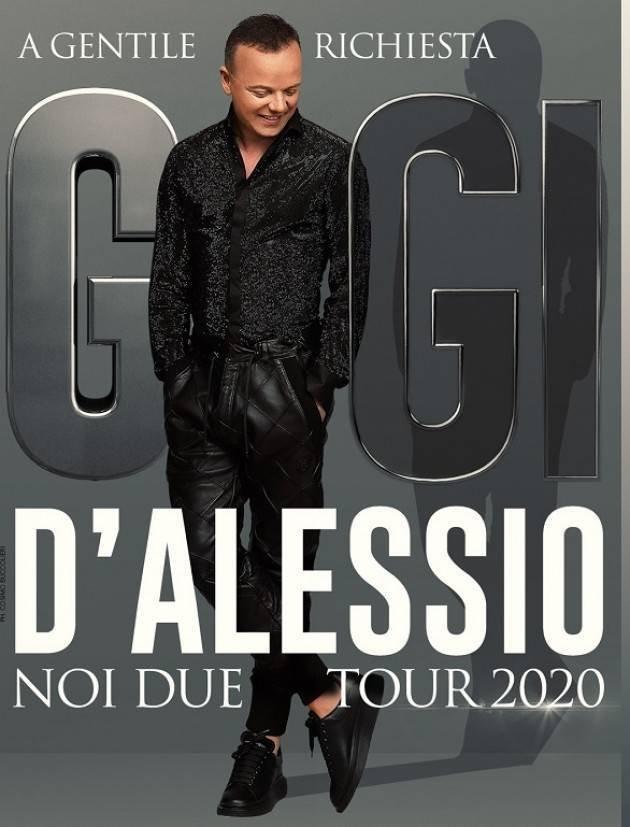 Gigi D'Alessio in Rome