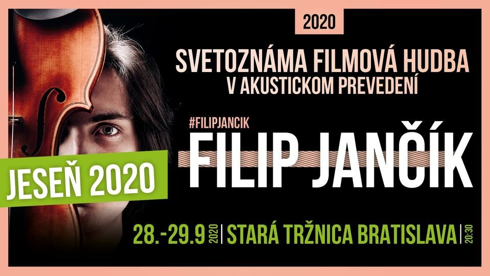 Filip Jančík concert