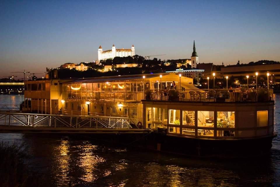 Open Air Latin Boat Party Bratislava