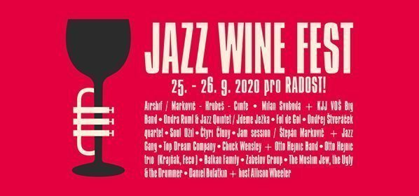 Jazz Wine Fest 2020 Prague