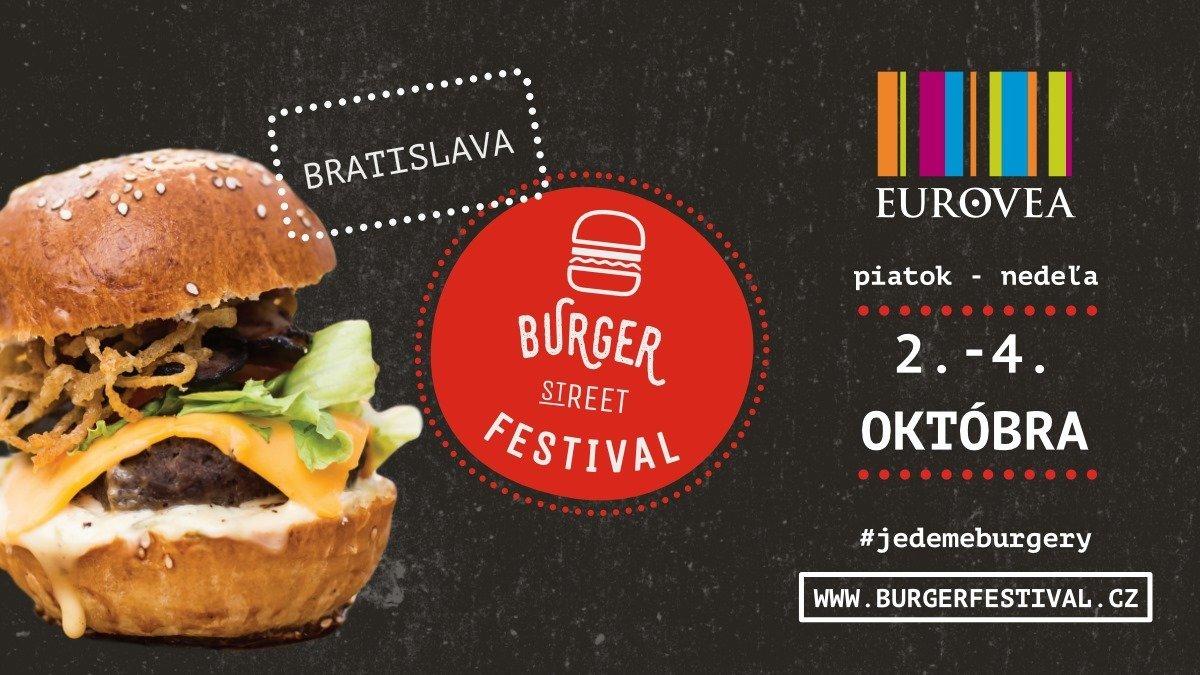 Burger Street Festival Bratislava