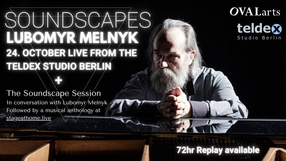 Livestream Concert with Lubomyr Melnyk