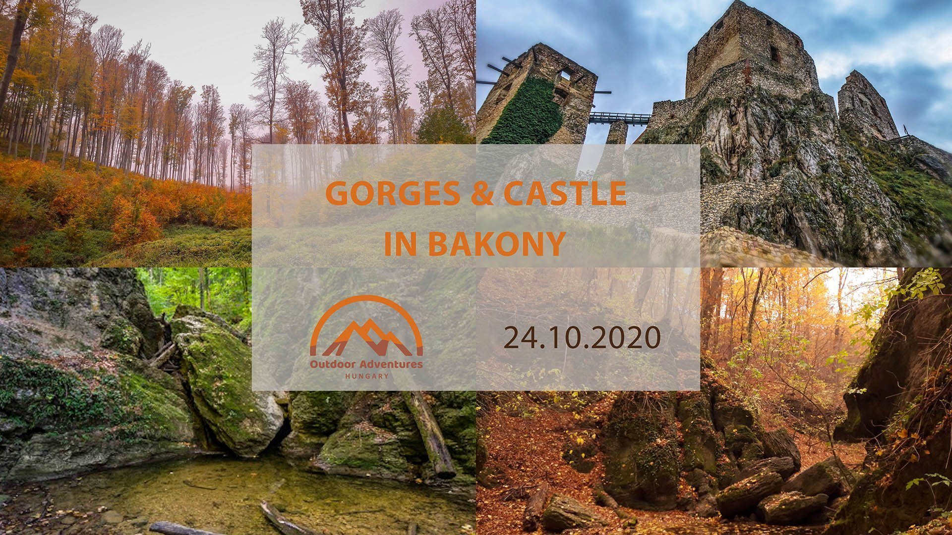 Gorges and Castle - Hike in Bakony