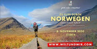 Norway on Foot - Travel Live Reportage