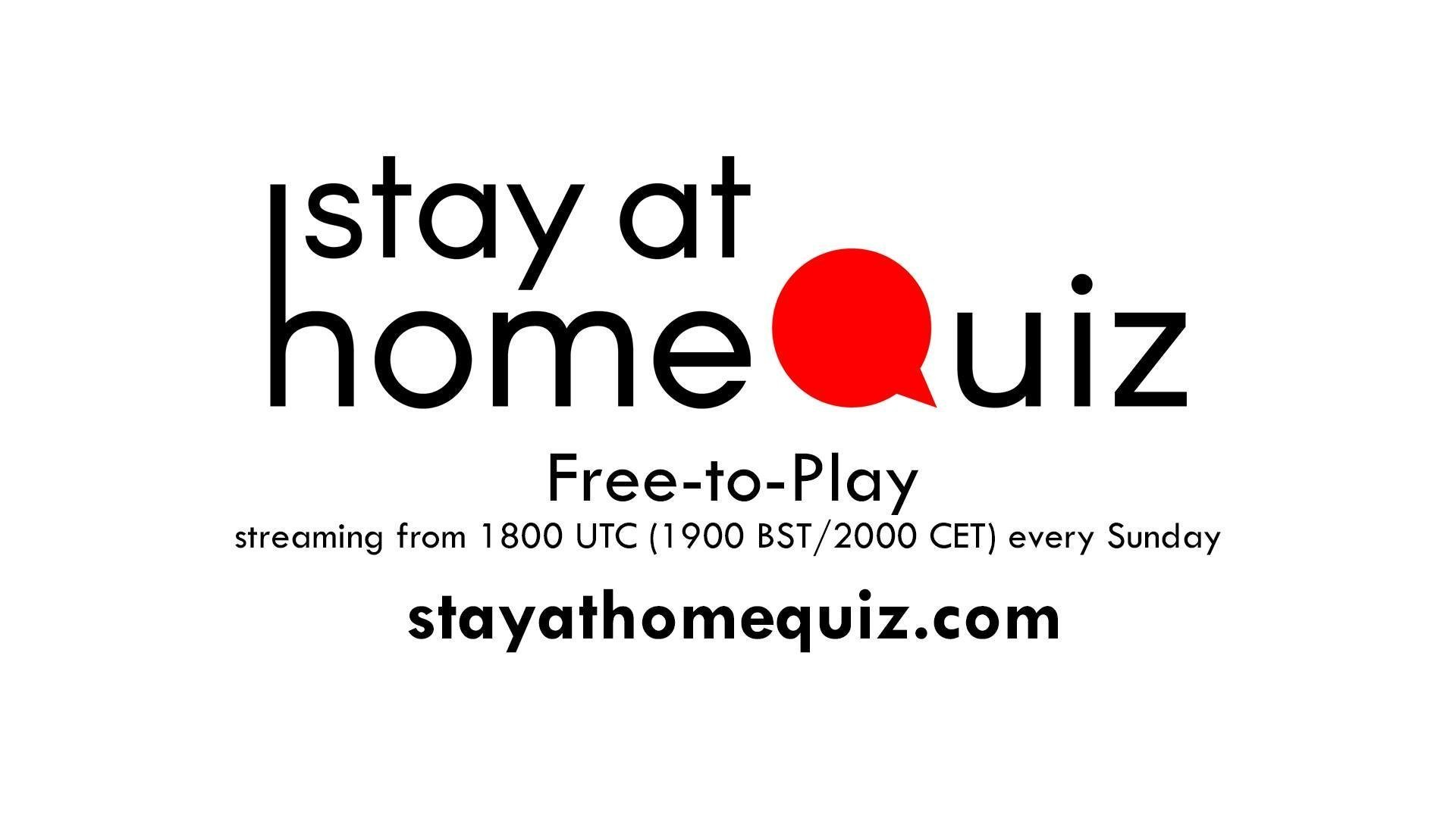StayAtHomeQuiz Sunday