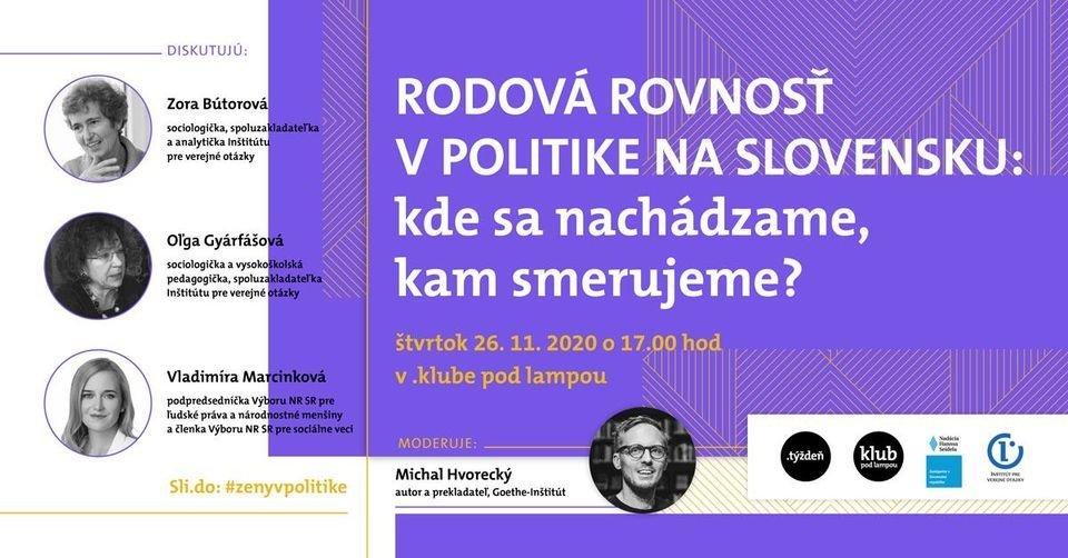 Slovak Politics and Gender Equality