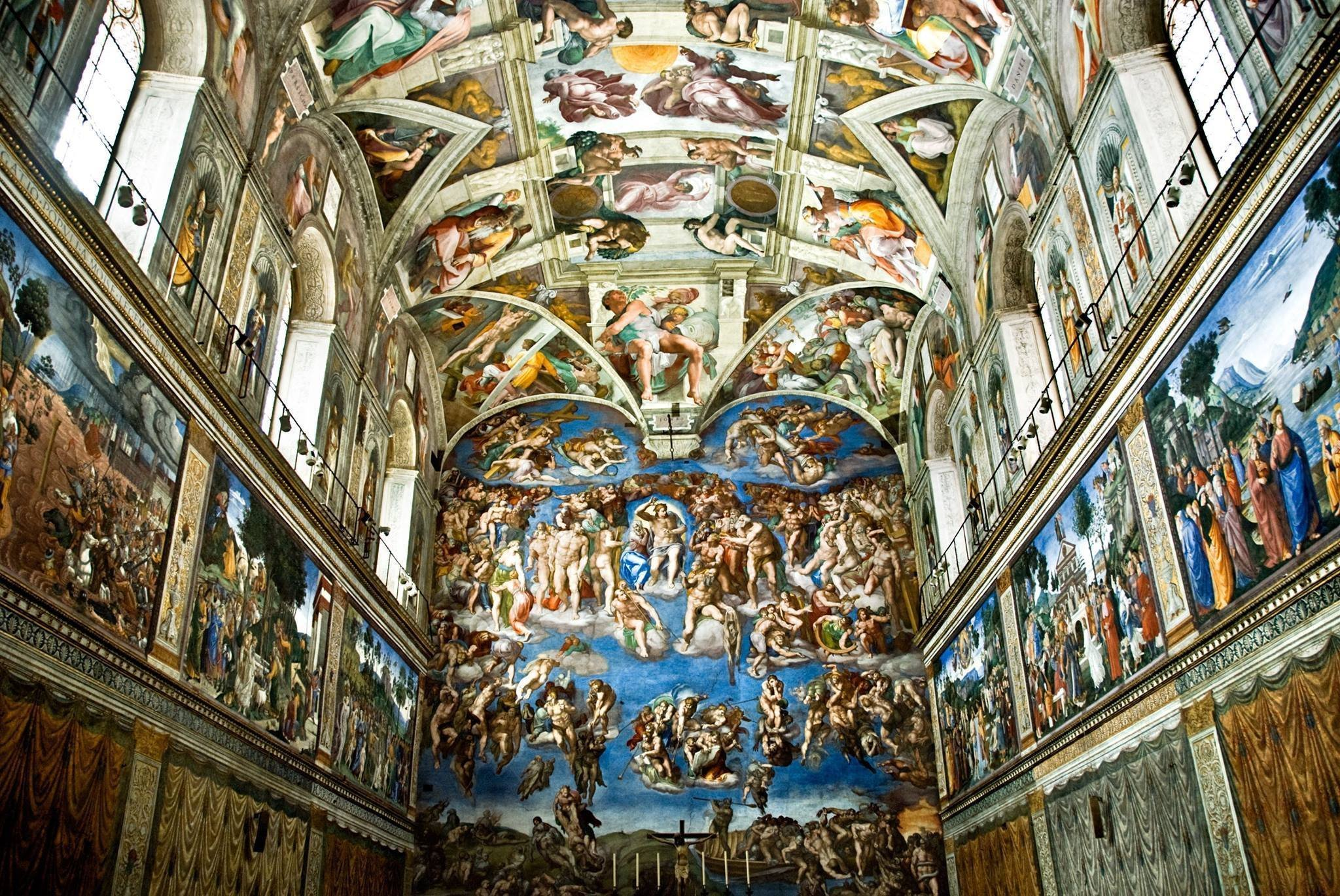Virtual visit of the Sistine Chapel