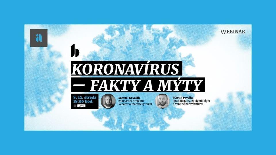 Koronavírus – fakty a mýty | Webinár