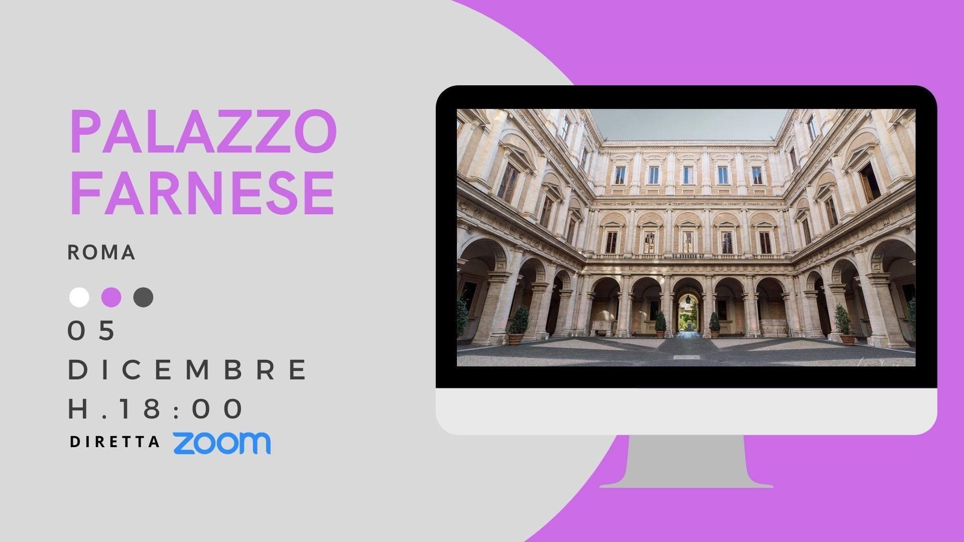 Palazzo Farnese in Rome ONLINE